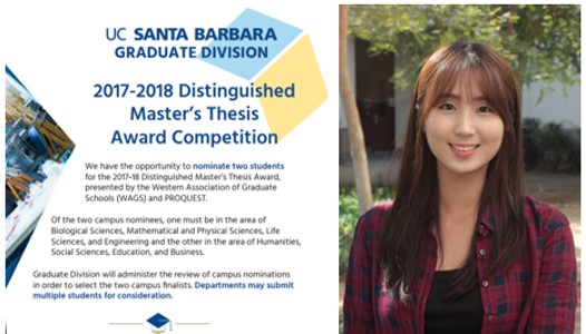 wags umi distinguished masters thesis award