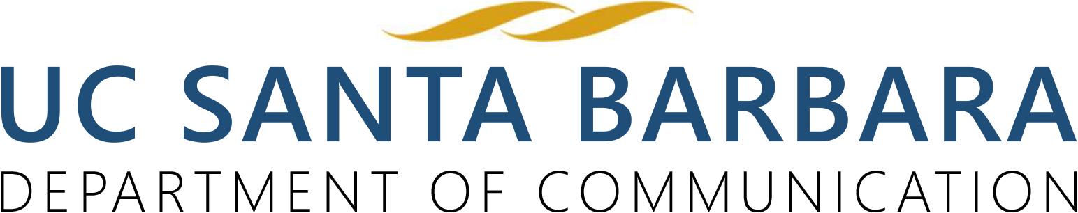Department of Communication - UC Santa Barbara